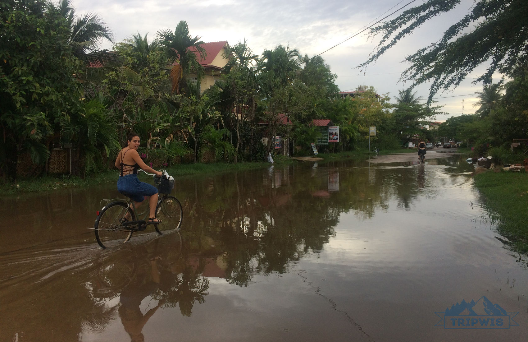 bicycle in Cambodia